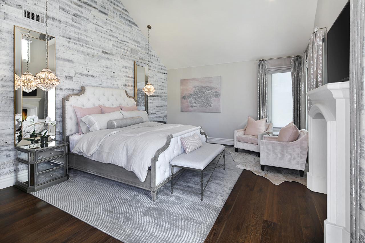 Обои для рабочего стола спальни Интерьер лампы Кресло Кровать дизайна спальне Спальня ламп Лампа кровати постель Дизайн