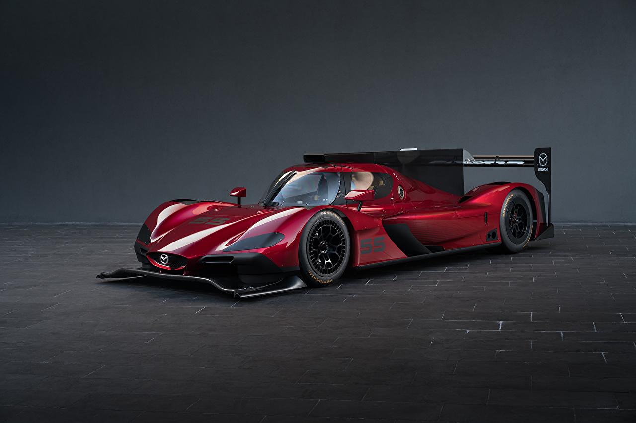 Картинки Мазда 2017 RT24-P бордовая авто Металлик Mazda Бордовый бордовые темно красный машина машины автомобиль Автомобили