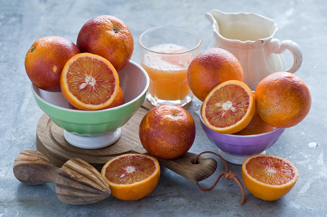 Обои для рабочего стола Сок Апельсин стакане Еда Фрукты Стакан стакана Пища Продукты питания