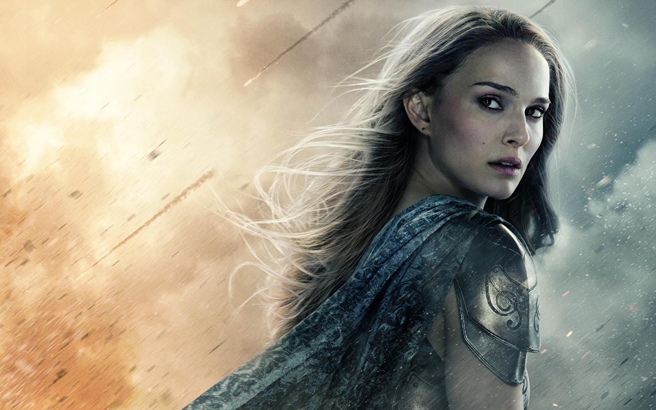 Фотография Тор 2: Царство тьмы Natalie Portman молодая женщина Фильмы Знаменитости Натали Портман девушка Девушки молодые женщины кино