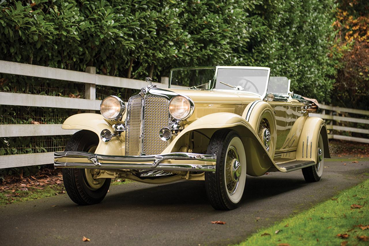 Фотография Chrysler 1931 Imperial Dual Cowl Phaeton by LeBaron кабриолета винтаж Автомобили Крайслер Кабриолет Ретро старинные авто машина машины автомобиль