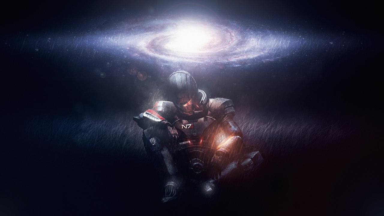 Картинки Shepard Mass Effect Игры