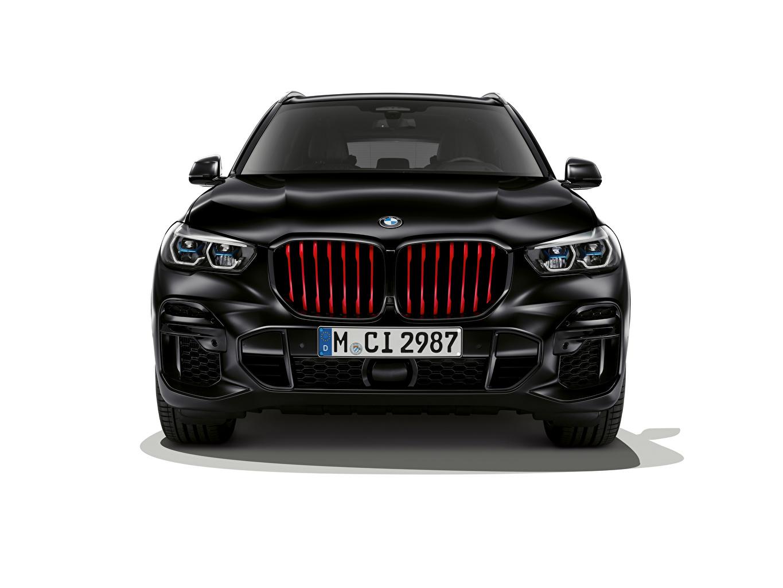 Обои для рабочего стола BMW Кроссовер X5 M50i Edition Black Vermilion, (Worldwide), (G05), 2021 Черный авто Спереди Белый фон БМВ CUV черная черные черных машина машины Автомобили автомобиль белом фоне белым фоном