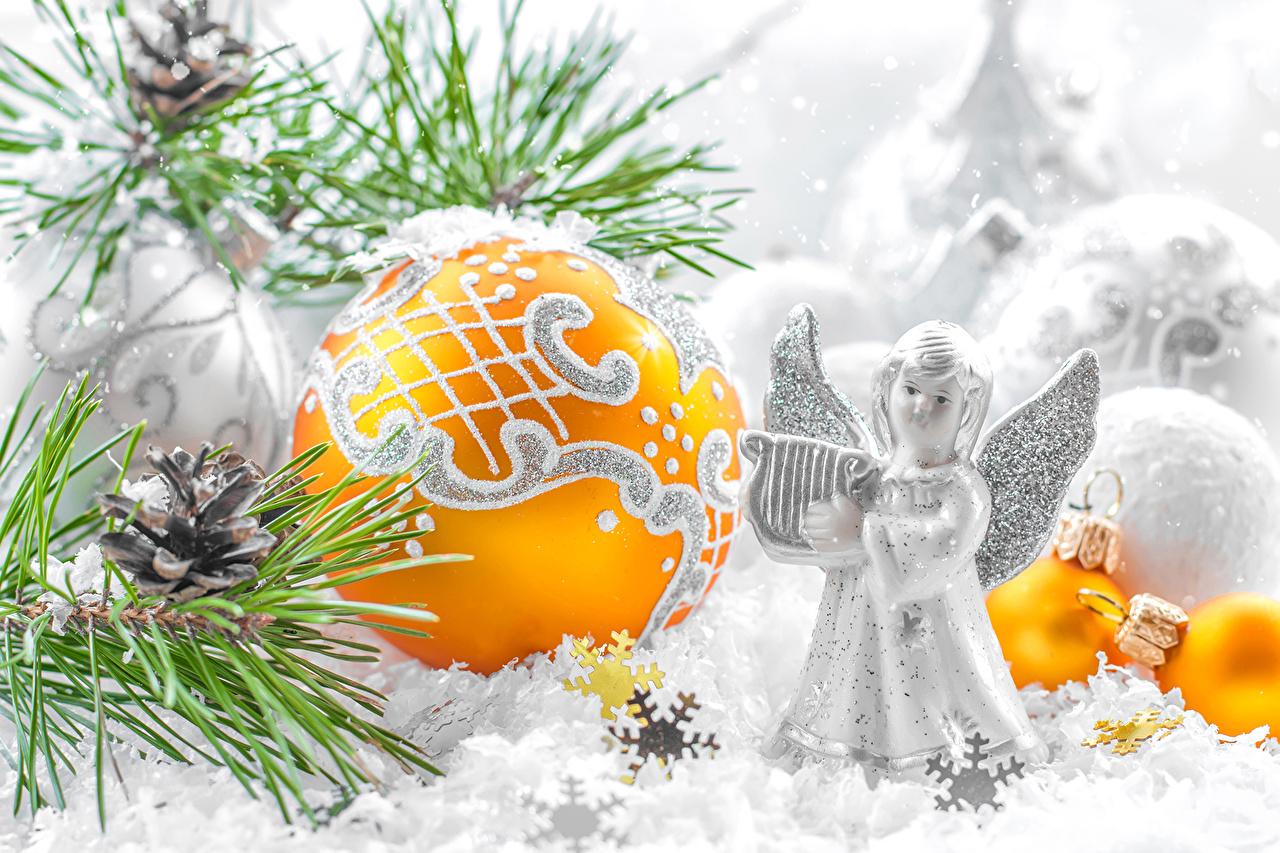 Ангелы к новому году фото