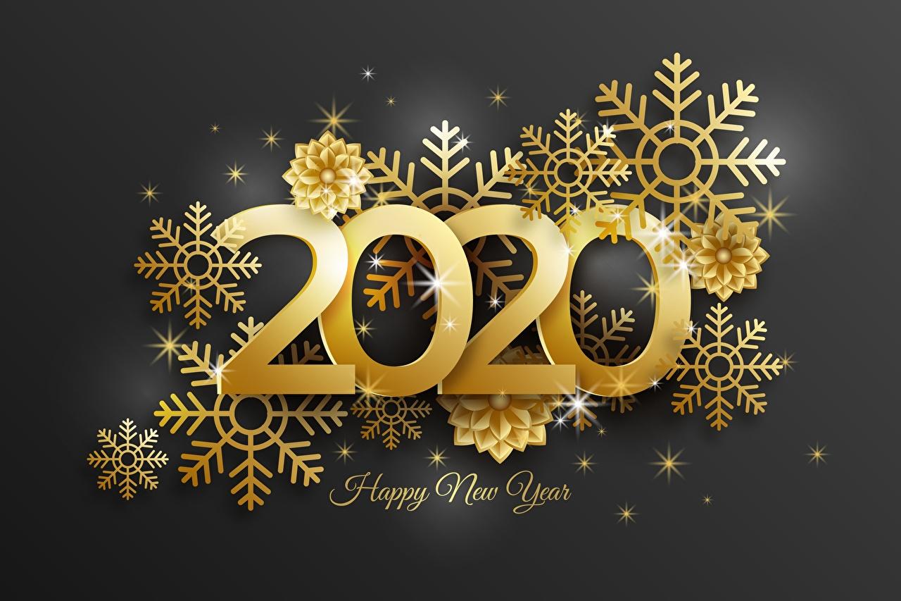 Фотография 2020 Новый год инглийские Золотой снежинка слова Рождество английская Английский золотая золотые золотых Снежинки текст Слово - Надпись