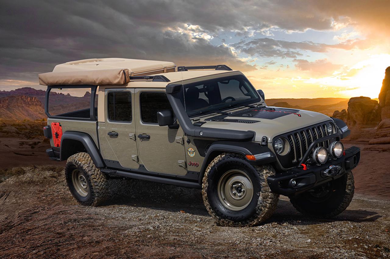 Картинка Джип Внедорожник 2019 Wayout Пикап кузов Автомобили Jeep SUV авто машины машина автомобиль