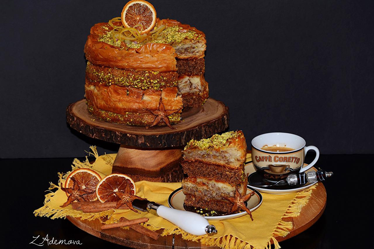 Фотография Торты Чашка Сладости Продукты питания чашке сладкая еда Еда Пища