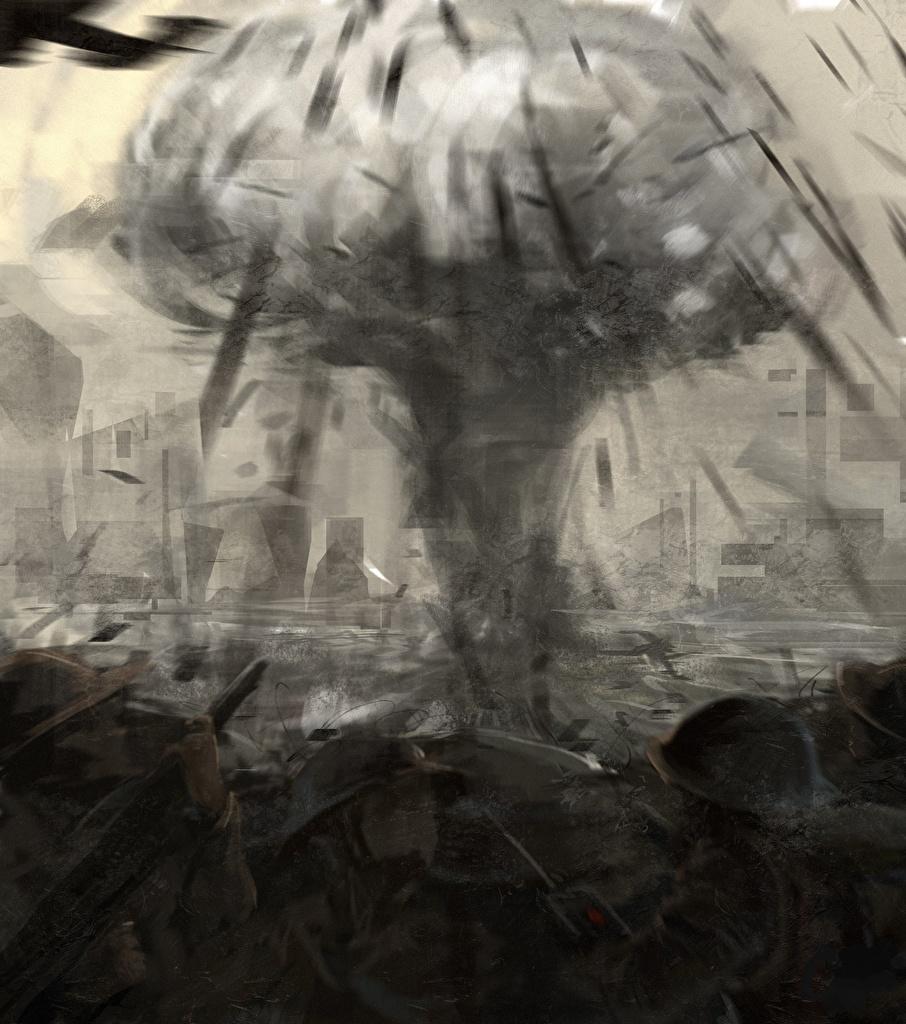 Фотографии Взрывы солдат Фан АРТ The Pacific Фильмы Солдаты Fan ART кино