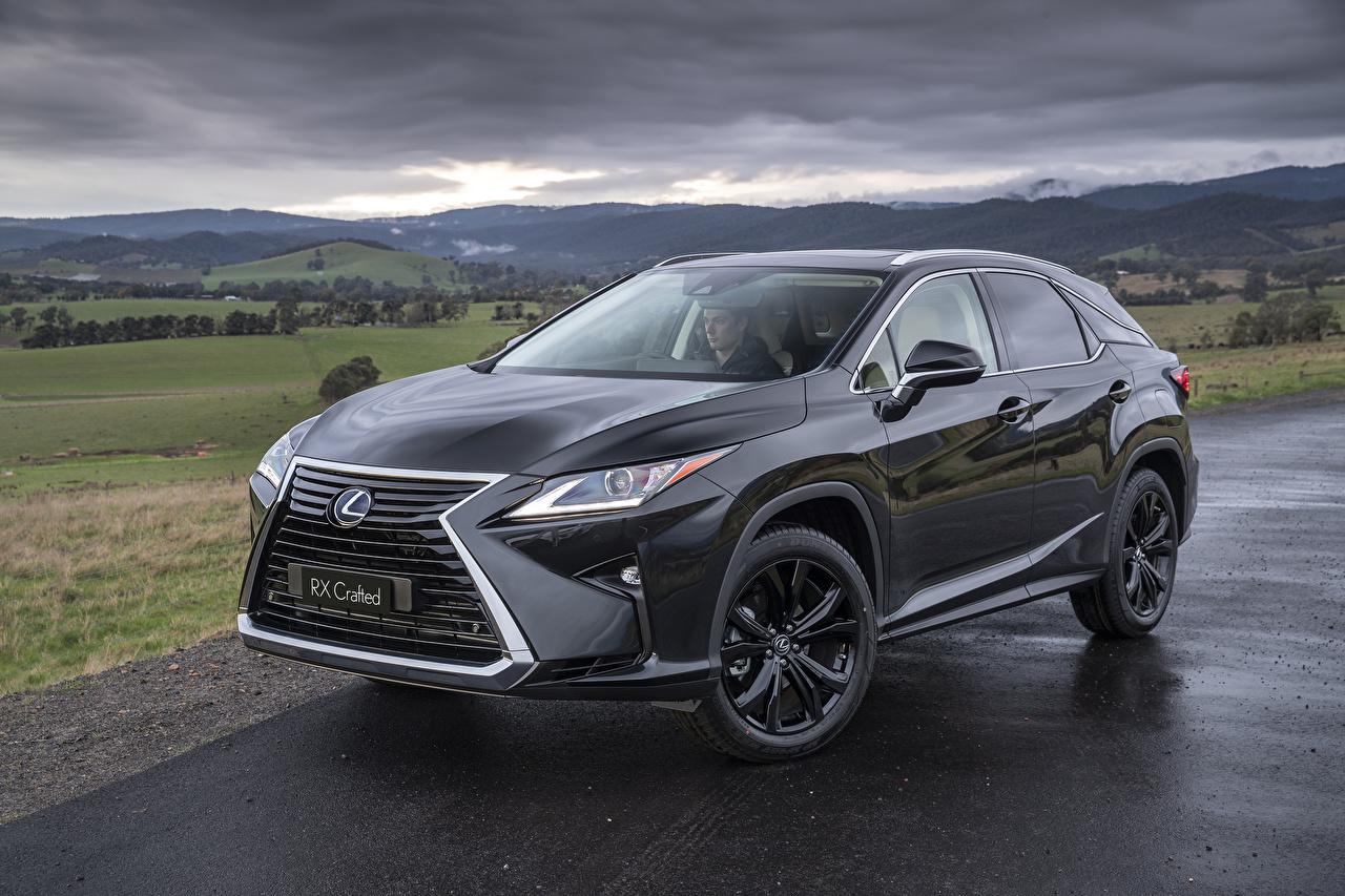 Обои для рабочего стола Lexus 2019 RX 350 Crafted Серый авто Металлик Лексус серая серые машина машины Автомобили автомобиль