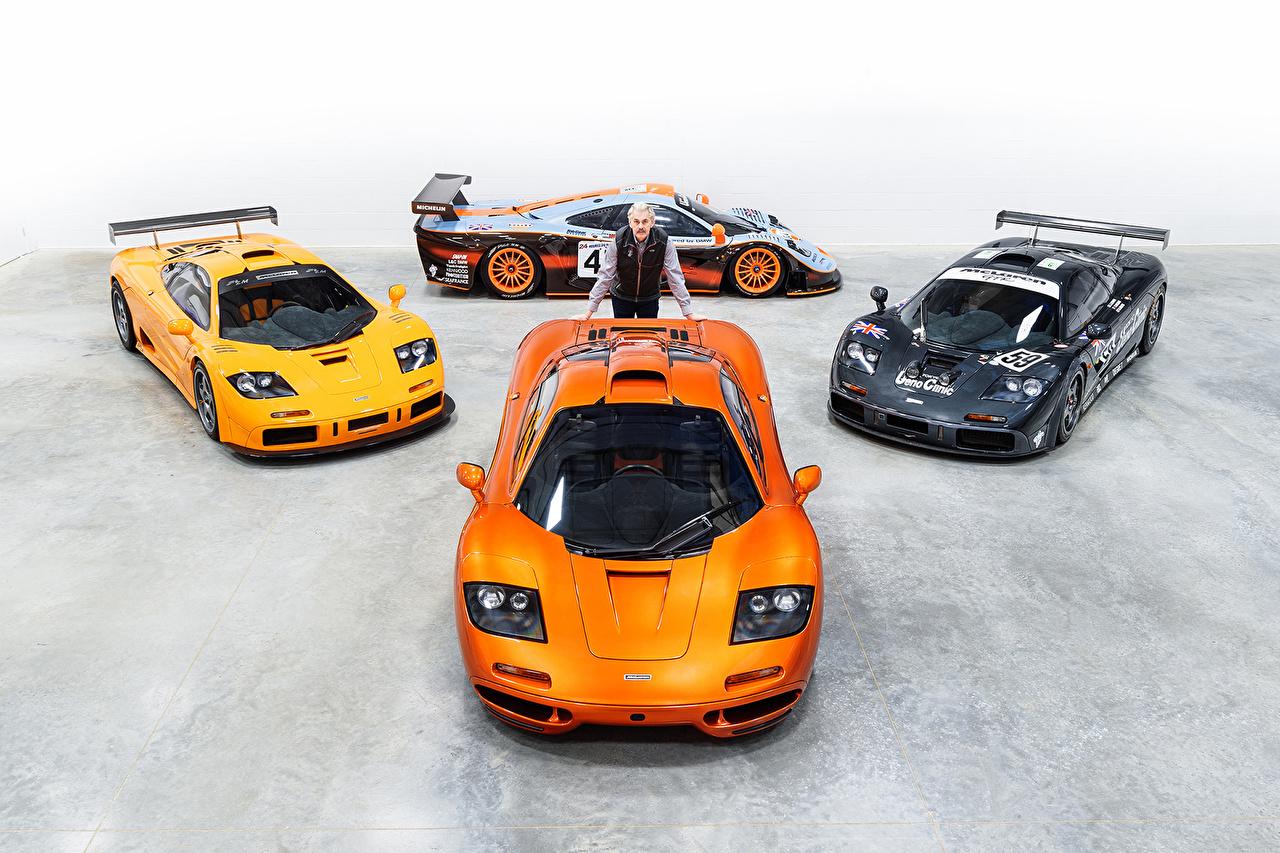 Фотография McLaren Тюнинг Мужчины F1, Gordon Murray Оранжевый Автомобили Макларен Стайлинг мужчина оранжевая оранжевые оранжевых авто машины машина автомобиль