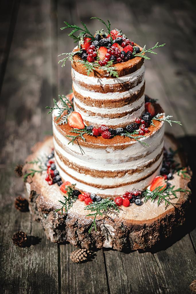 Фото Торты Еда Ягоды Сладости Дизайн  для мобильного телефона Пища Продукты питания сладкая еда дизайна