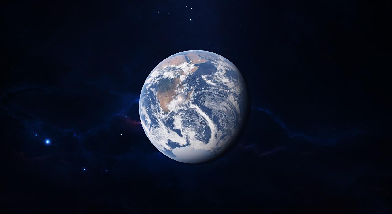 Обои для рабочего стола земли Планеты by Jake Lutz Космос Земля планета