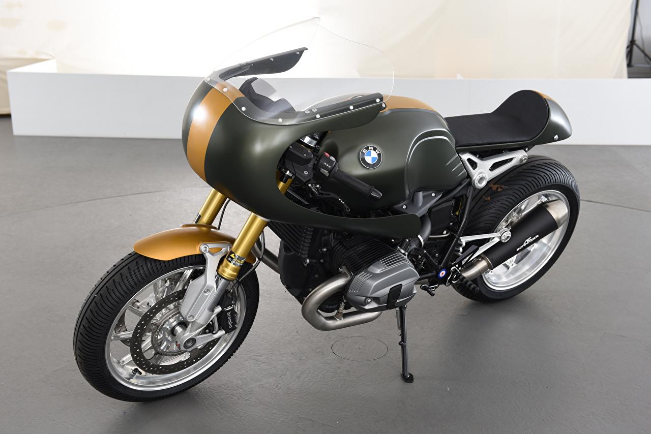 Обои для рабочего стола BMW - Мотоциклы 2016-20 3AC Schnitzer BMW R nineT Full Race мотоцикл БМВ Мотоциклы