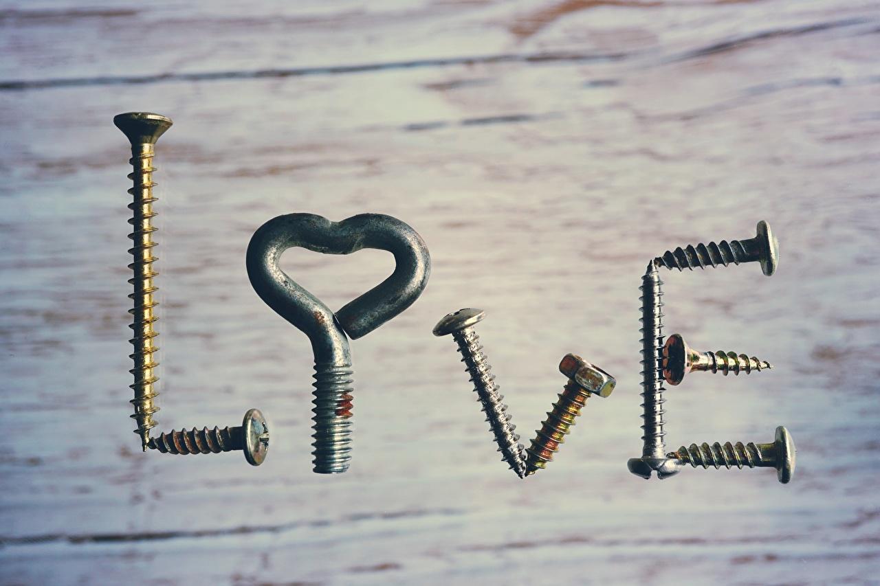 Картинка инглийские Screws Любовь креативные Слово - Надпись английская Английский слова текст Креатив оригинальные
