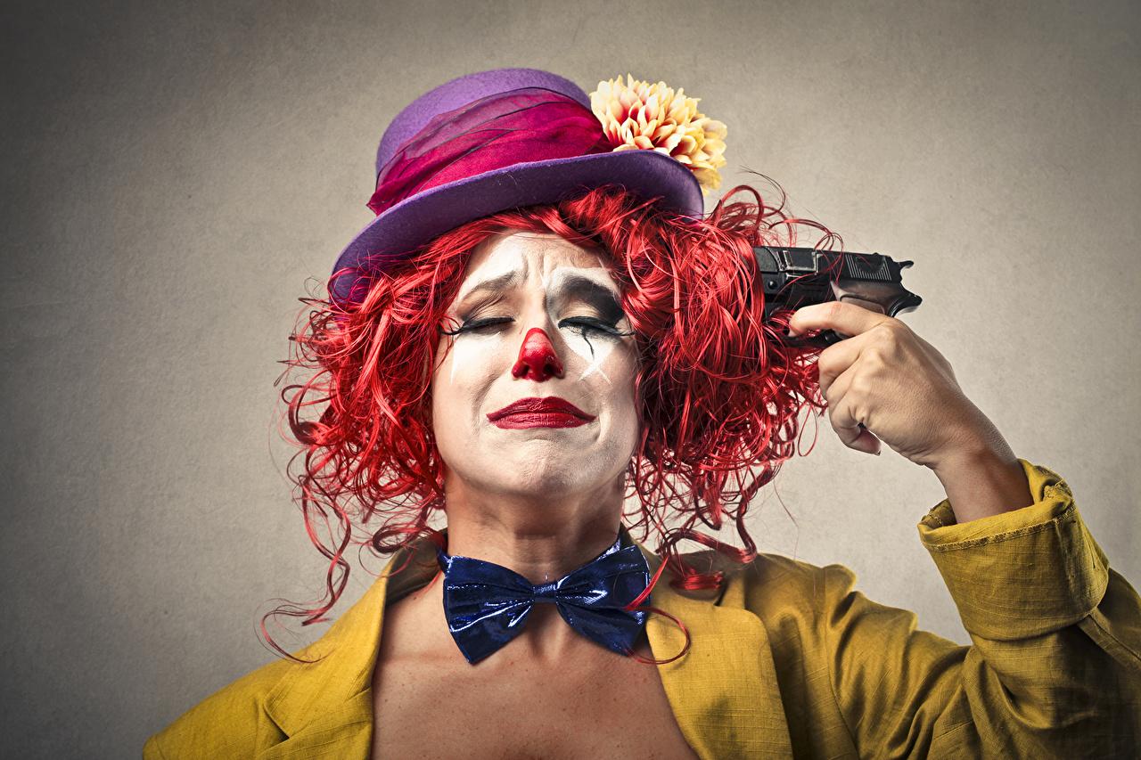 Картинки Пистолеты шляпы креативные пистолет пистолетом Шляпа шляпе Креатив оригинальные