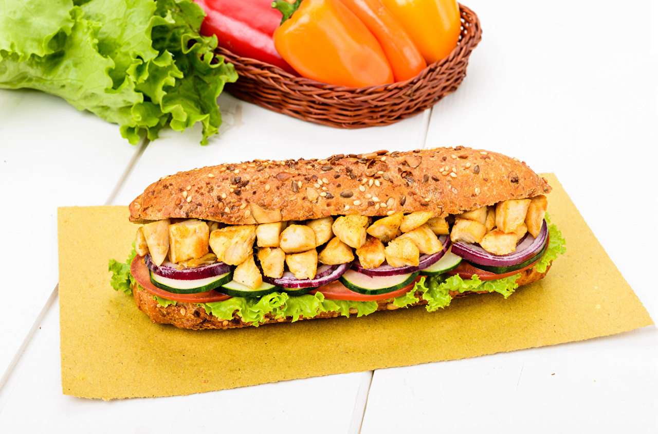 Картинки Сэндвич Фастфуд Еда Овощи Мясные продукты Быстрое питание Пища Продукты питания