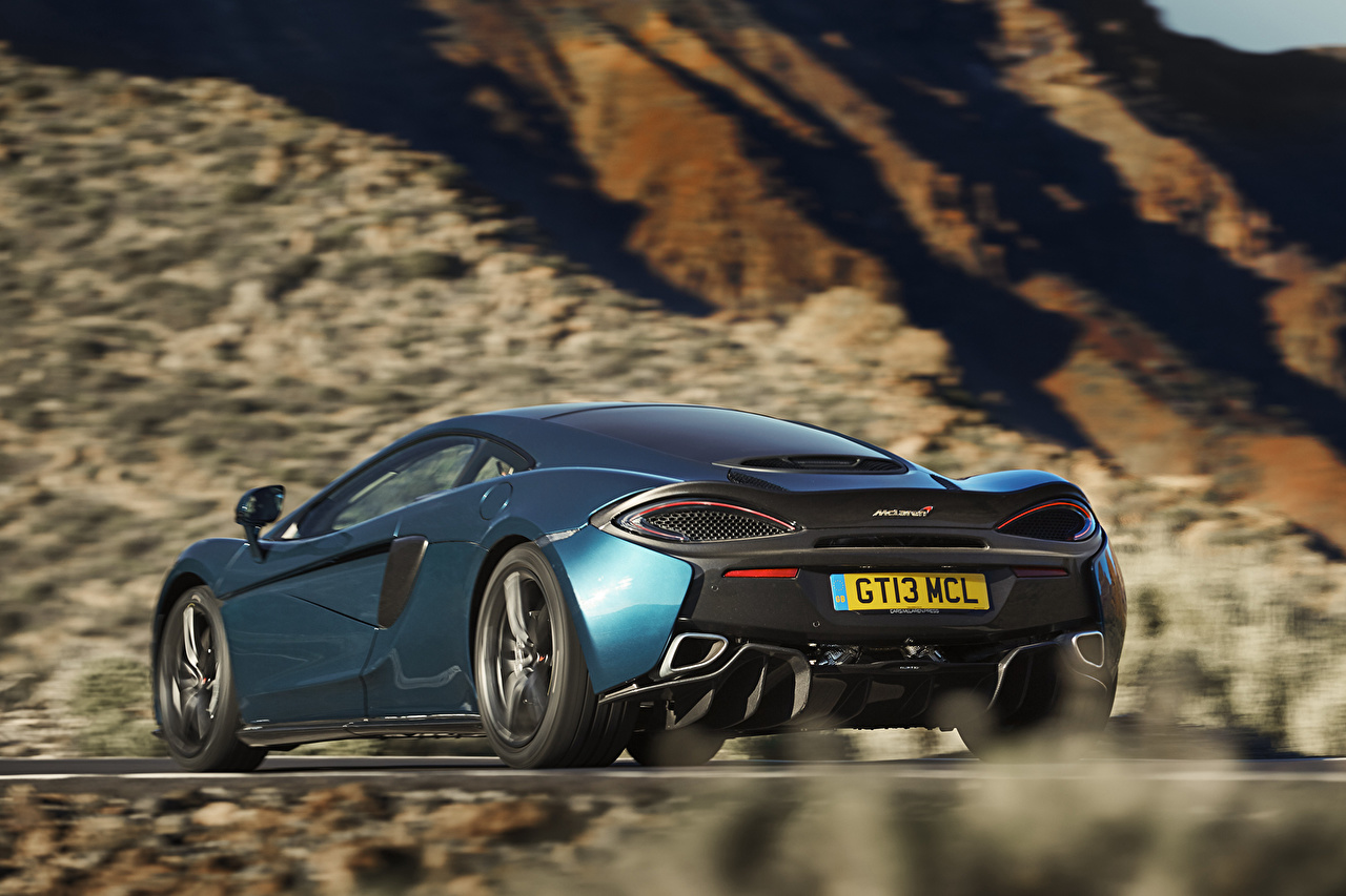 Картинка McLaren 570GT Сзади Автомобили Макларен Авто Машины
