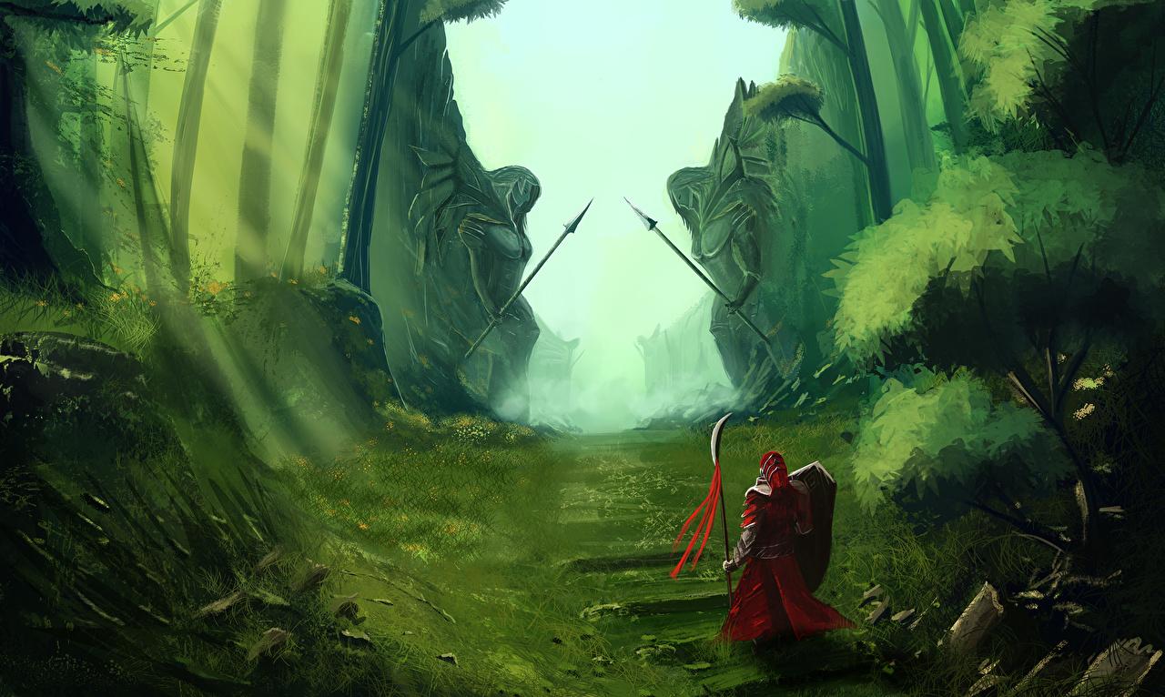 Картинка броня Воители Фантастика броне Доспехи доспехе доспехах воин воины Фэнтези