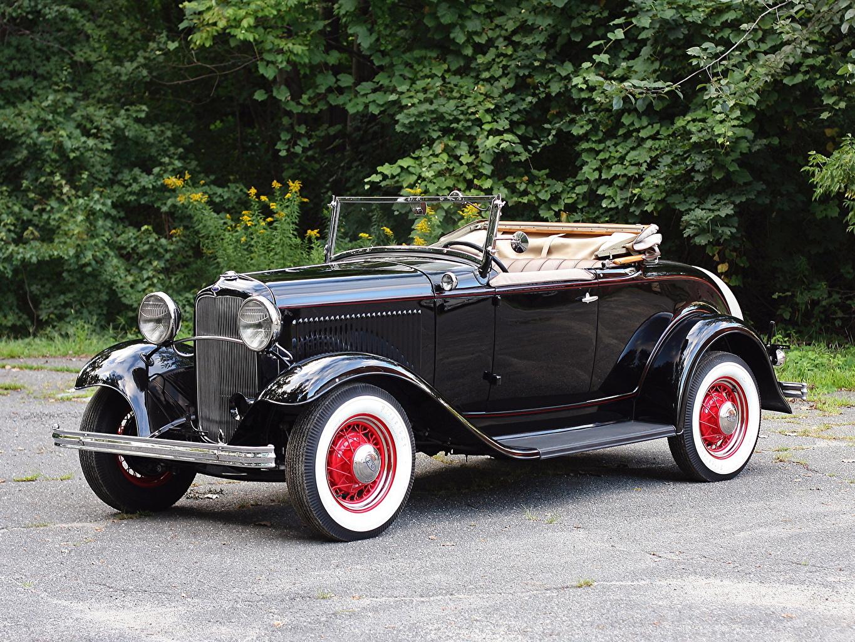 Картинка Форд Model B Roadster 1932 Родстер Автомобили Ford авто машина машины автомобиль