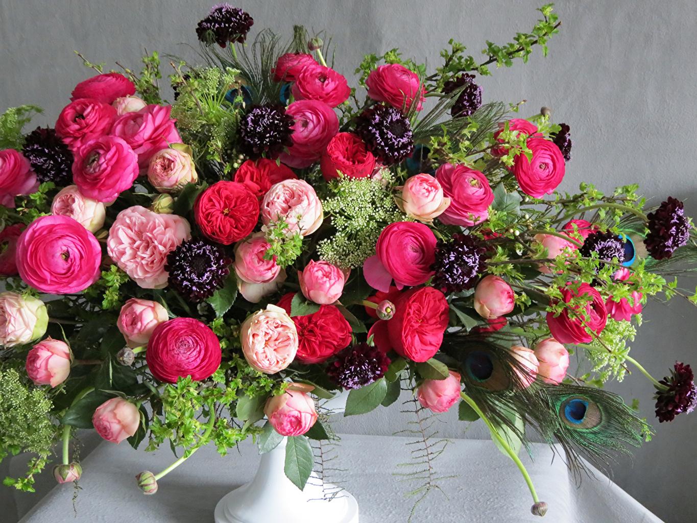 Букеты цветы фотки