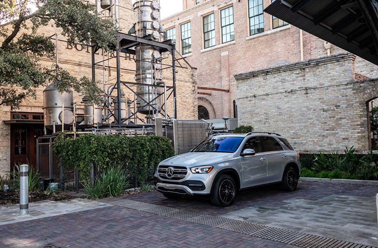 Обои Мерседес бенц 2020 GLE 350 4MATIC Металлик Автомобили Mercedes-Benz Авто Машины