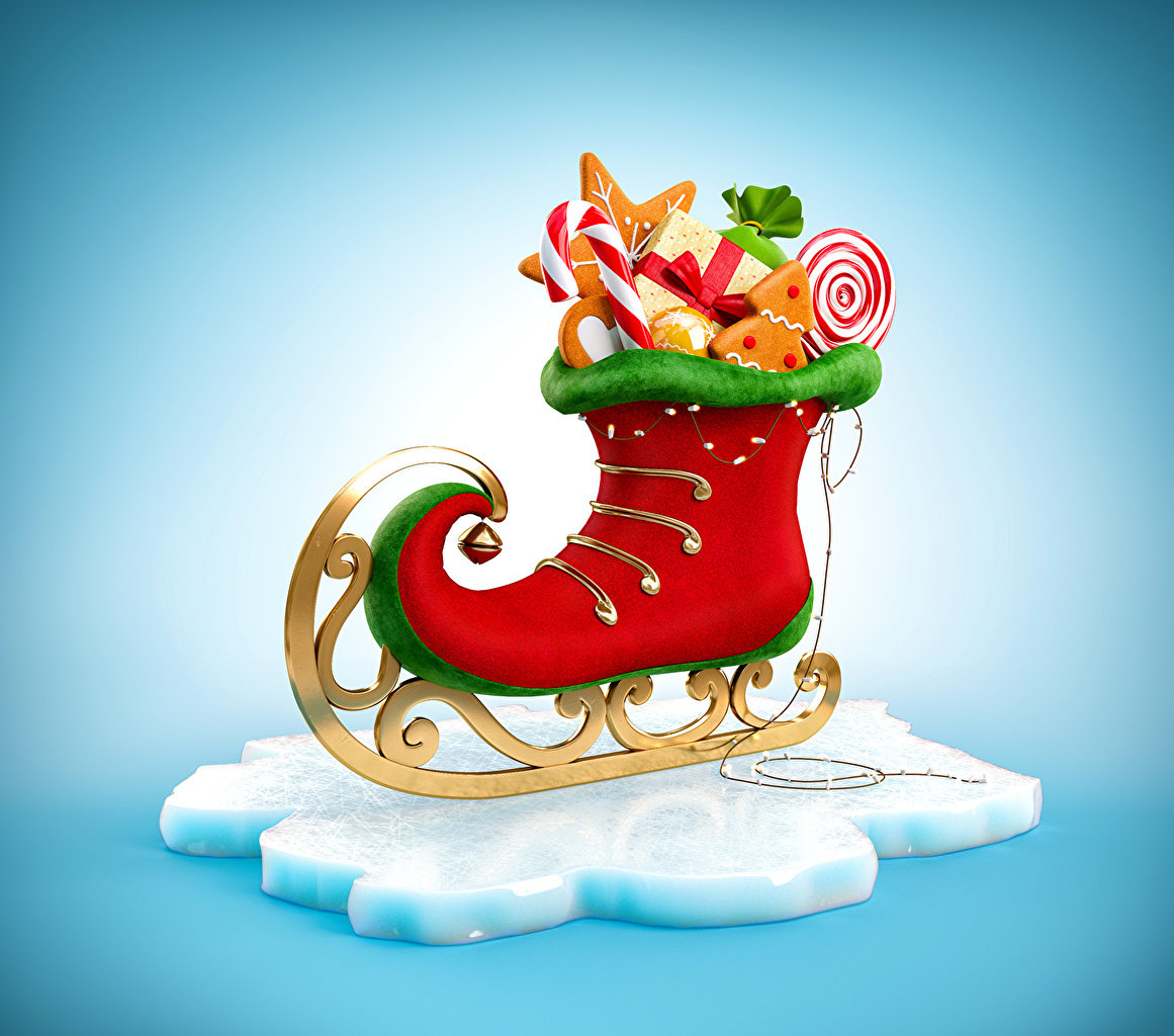 Фото коньках Рождество Продукты питания Сладости Дизайн Коньки Новый год Еда Пища сладкая еда дизайна