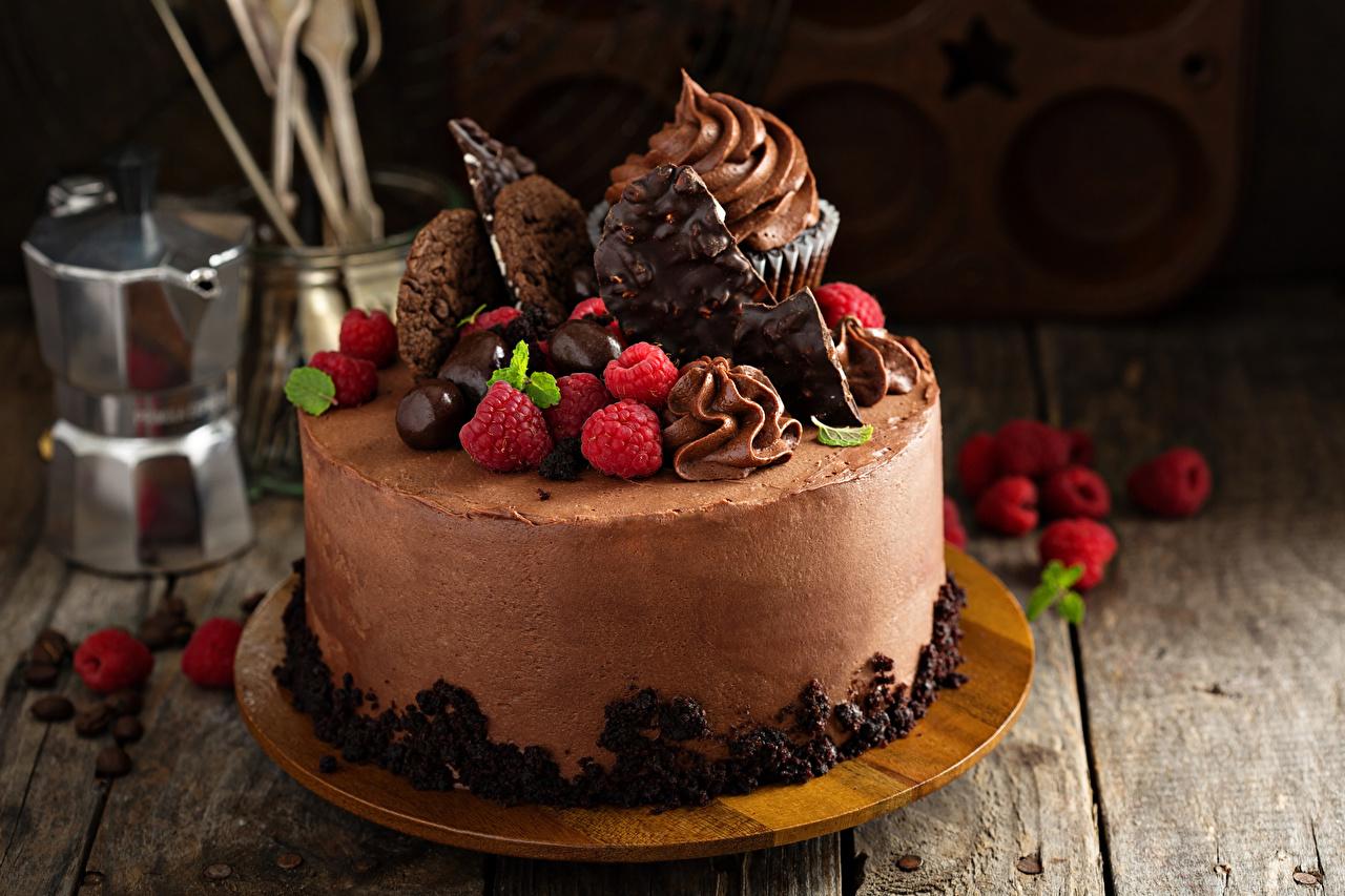 Фотографии Шоколад Торты Ягоды Продукты питания Сладости Доски дизайна Еда Пища Дизайн