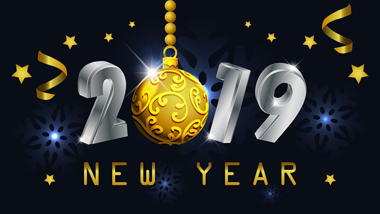 Фото 2019 Новый год Звездочки английская Шарики Рождество инглийские Английский Шар