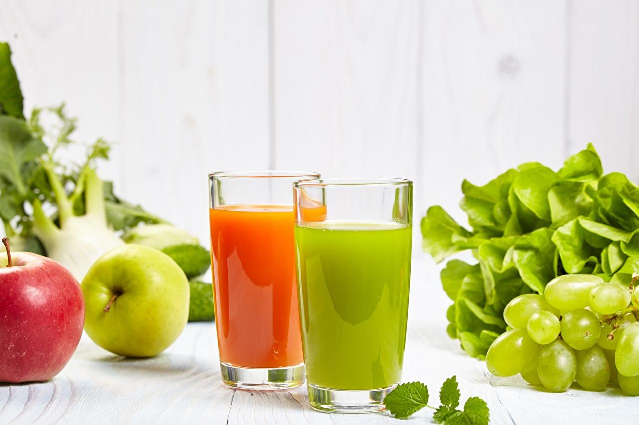 Фотография Сок стакане Еда Стакан стакана Пища Продукты питания
