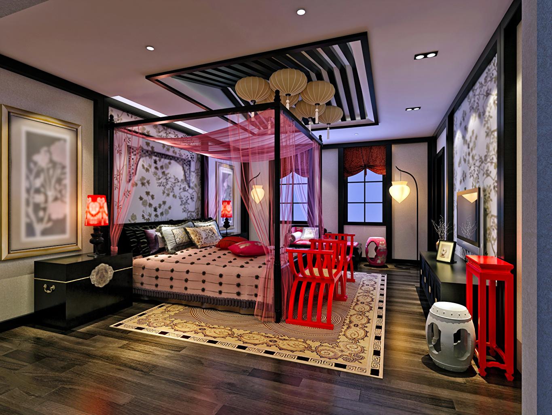 Картинки Спальня потолка Интерьер Ковер Кровать Дизайн спальни спальне Потолок ковры ковра ковров кровате кровати дизайна