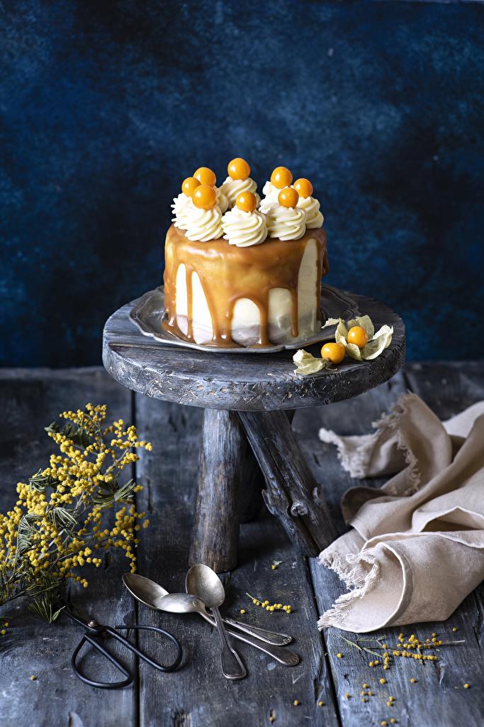 Картинки Торты ложки Продукты питания Сладости Доски дизайна  для мобильного телефона Еда Пища Ложка сладкая еда Дизайн