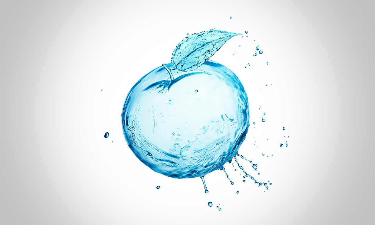 Картинки Помидоры 3D Графика Вода 3д Томаты воде