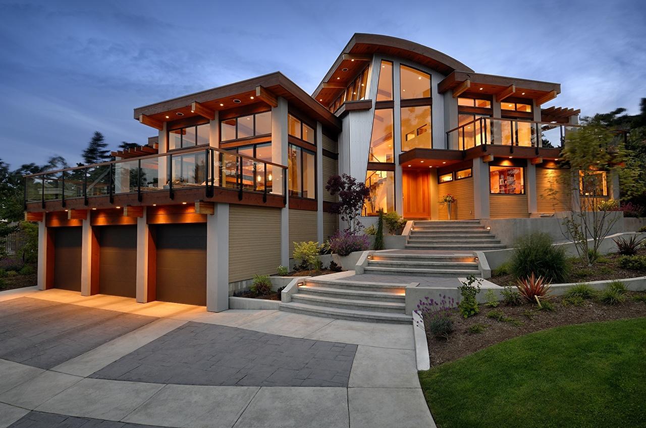 красивые дома проекты