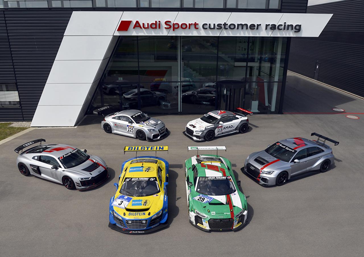 Фотография Audi Стайлинг авто Много Ауди Тюнинг машина машины Автомобили автомобиль
