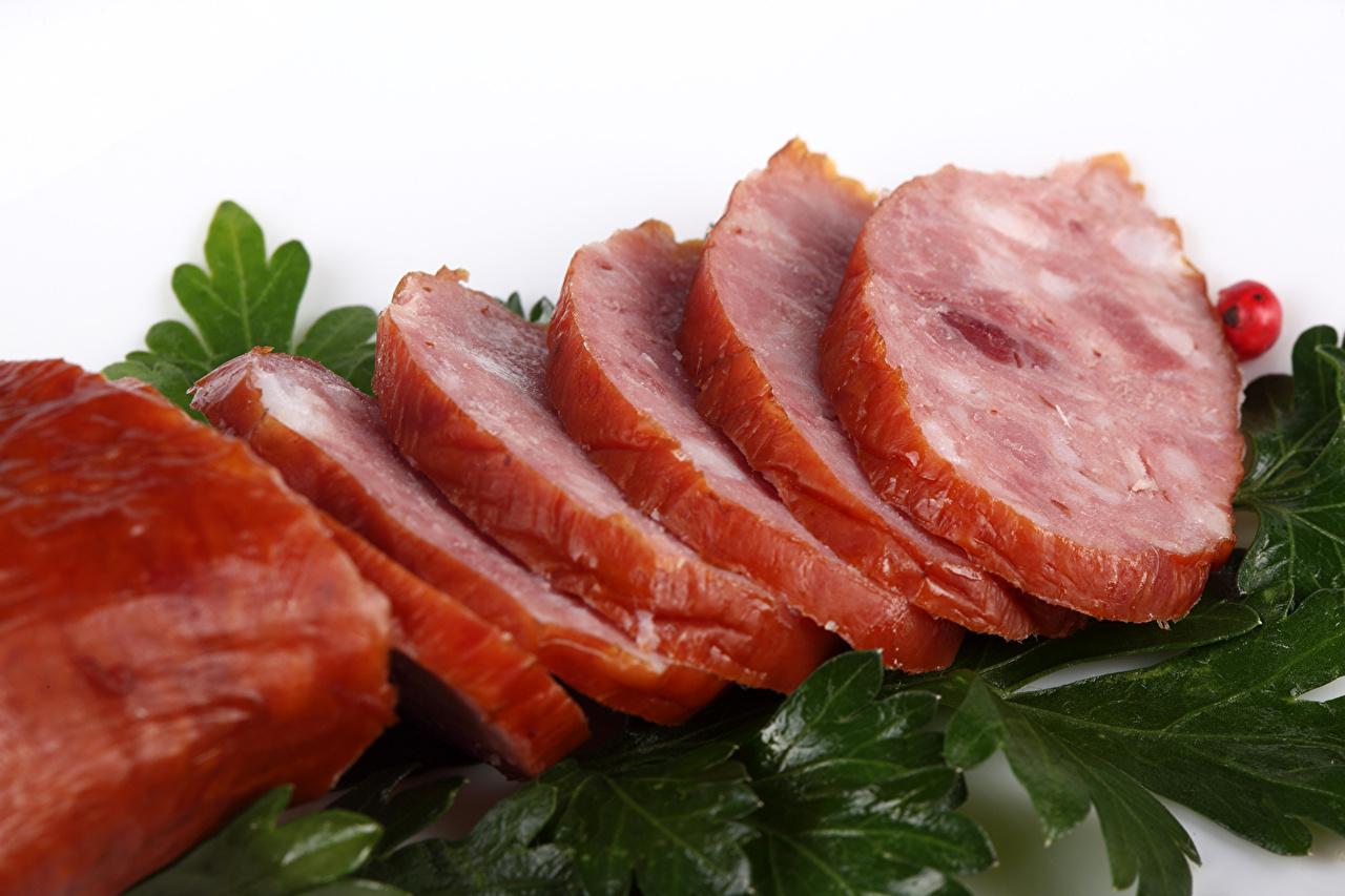 Фото Ветчина Еда Мясные продукты Пища Продукты питания