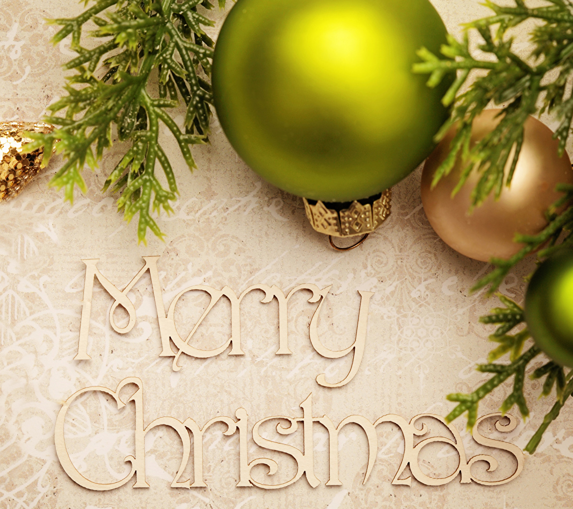 Картинки Рождество английская Шарики Новый год инглийские Английский Шар