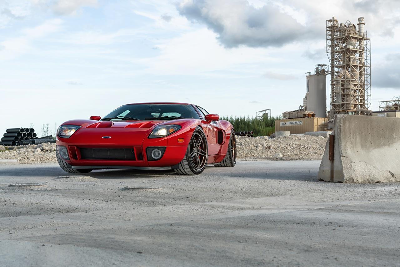 Обои для рабочего стола Ford Series AN37 Красный Автомобили Форд красная красные красных авто машины машина автомобиль