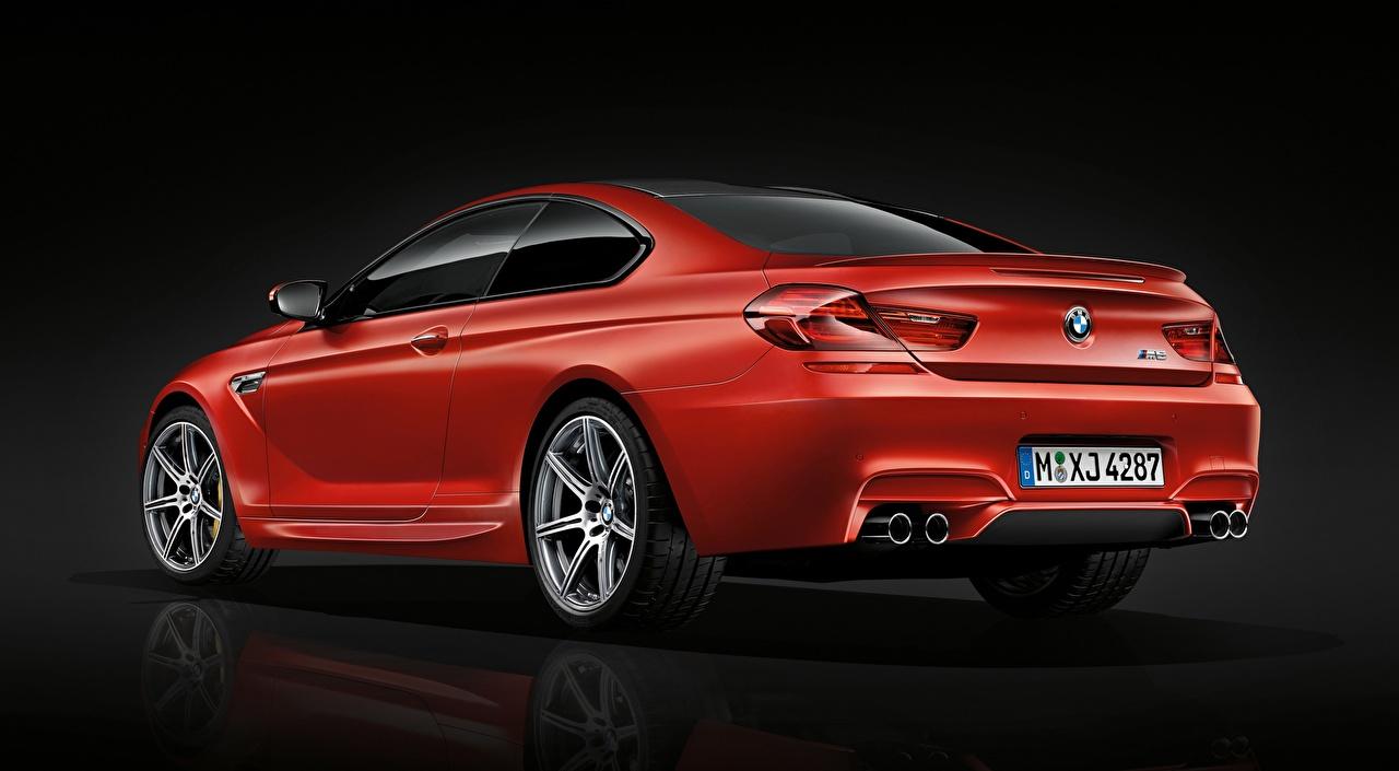 Картинки БМВ M6 Coupe, Competition Package, 2015 Купе Красный Металлик Автомобили BMW красная красные красных авто машины машина автомобиль