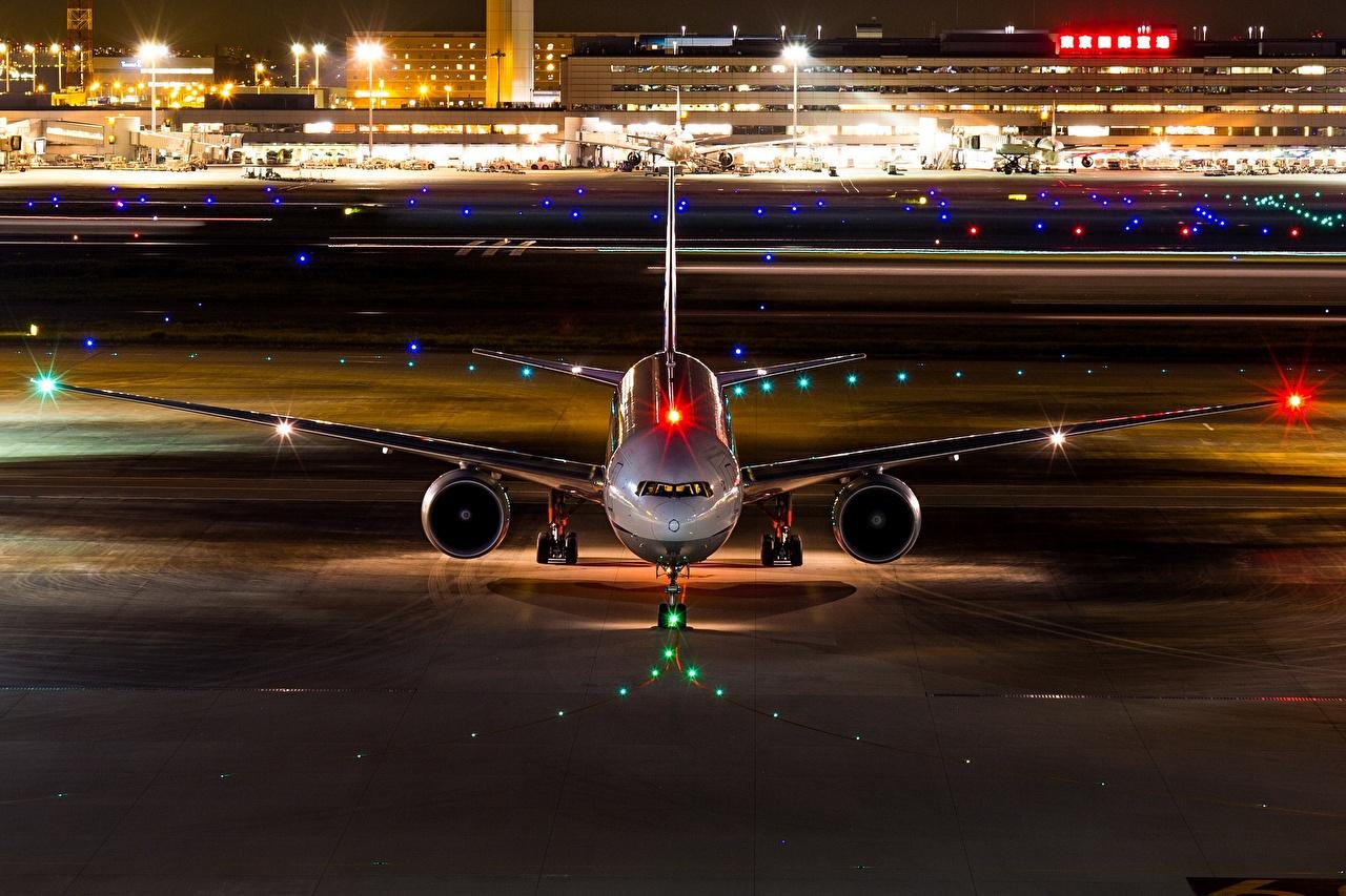 Фотография Boeing Самолеты Пассажирские Самолеты 777-300ER Авиация Боинг