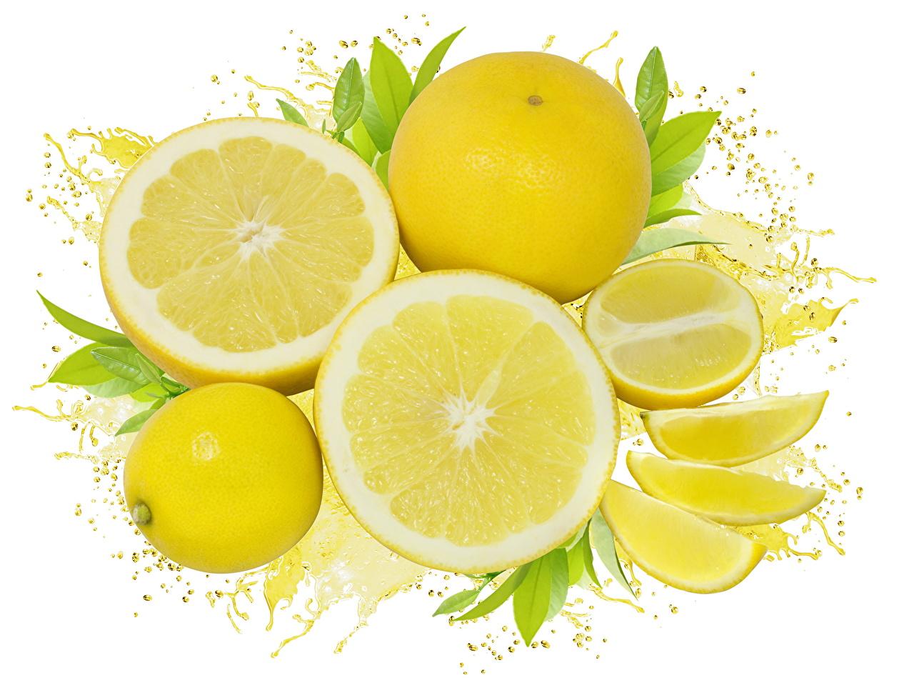 Картинки Желтый Лимоны Еда Фрукты желтых желтые желтая Пища Продукты питания