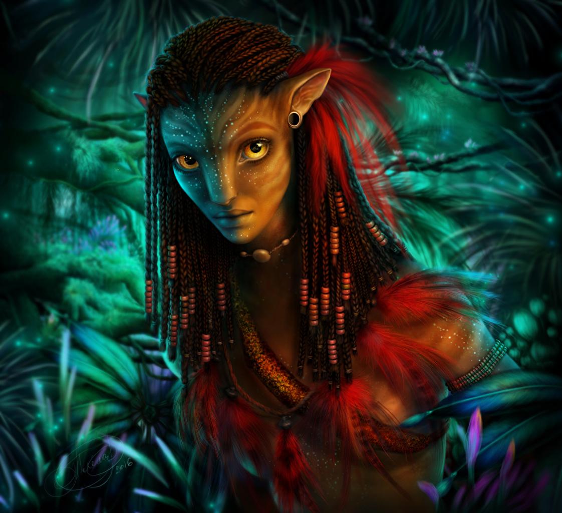Картинки Аватар Фантастика Фэнтези