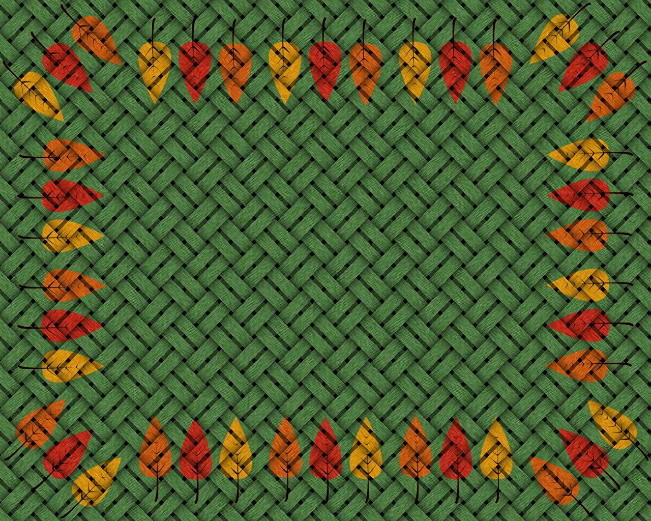 Фото Листва орнамент Текстура лист Узоры Листья