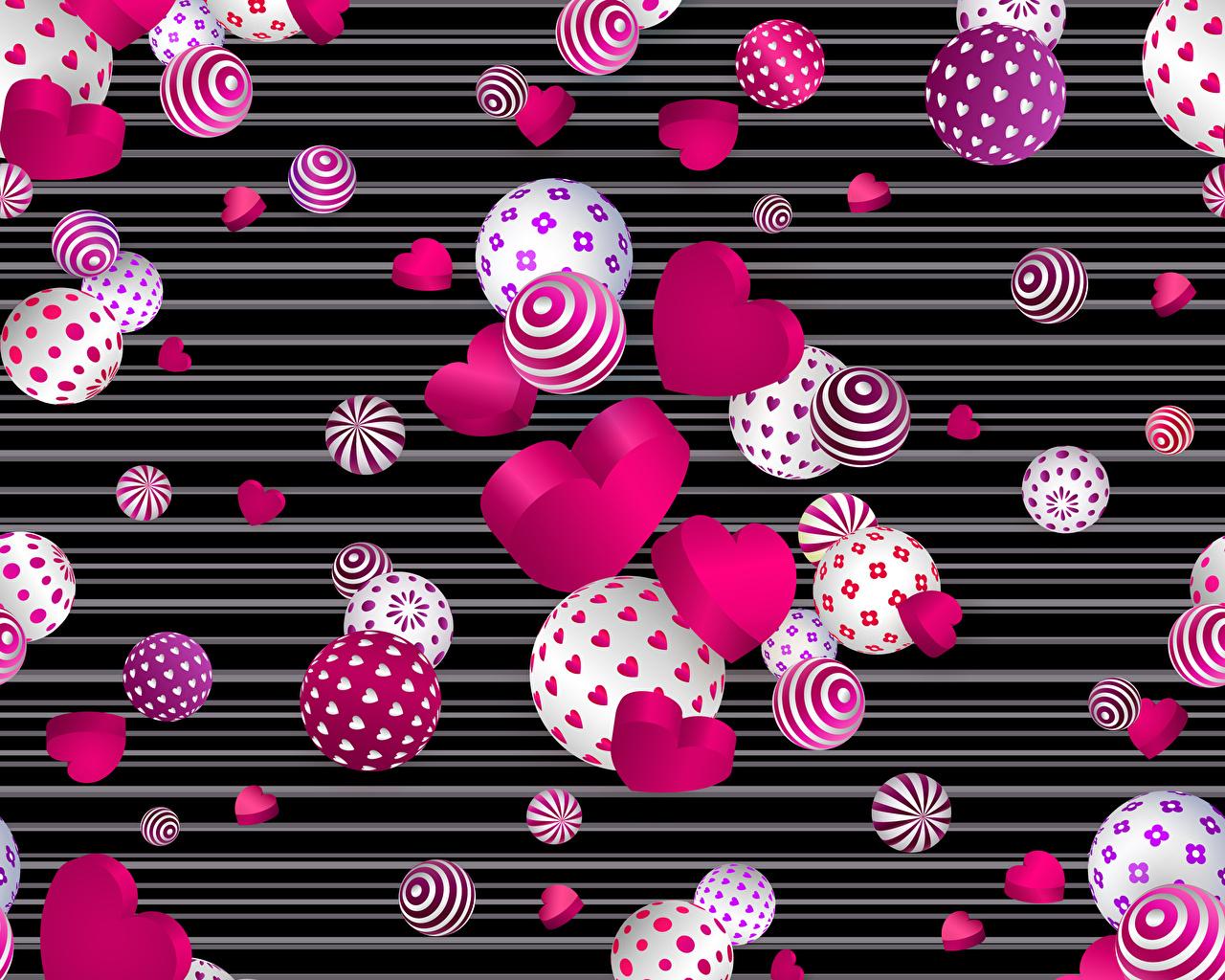 Фото День святого Валентина сердечко Шар День всех влюблённых серце сердца Сердце Шарики