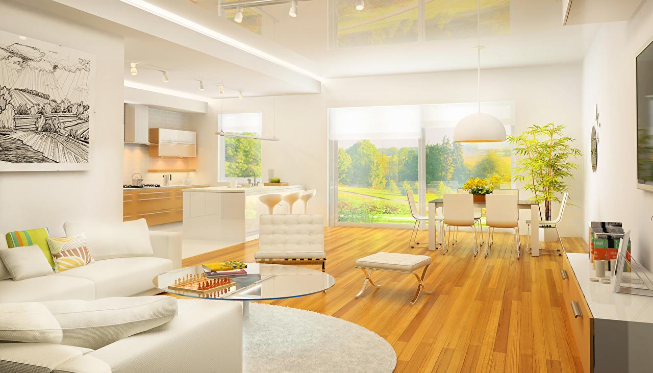 Фото Гостиная 3D Графика Интерьер Дизайн гостевая 3д дизайна