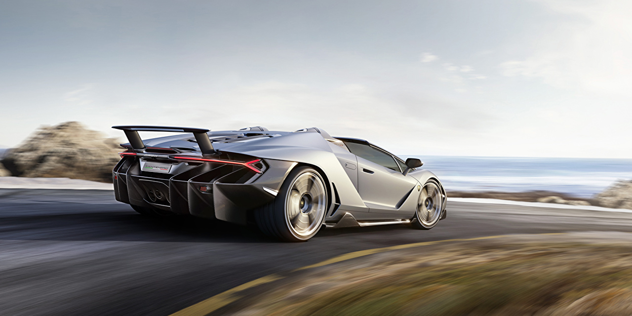Картинка Ламборгини Centenario Roadster Родстер Машины Lamborghini Авто Автомобили