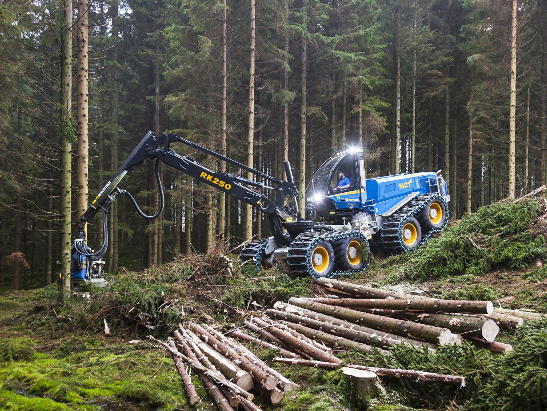 Картинки 2013-18 Rottne H21D Harvester бревно Леса Бревна лес