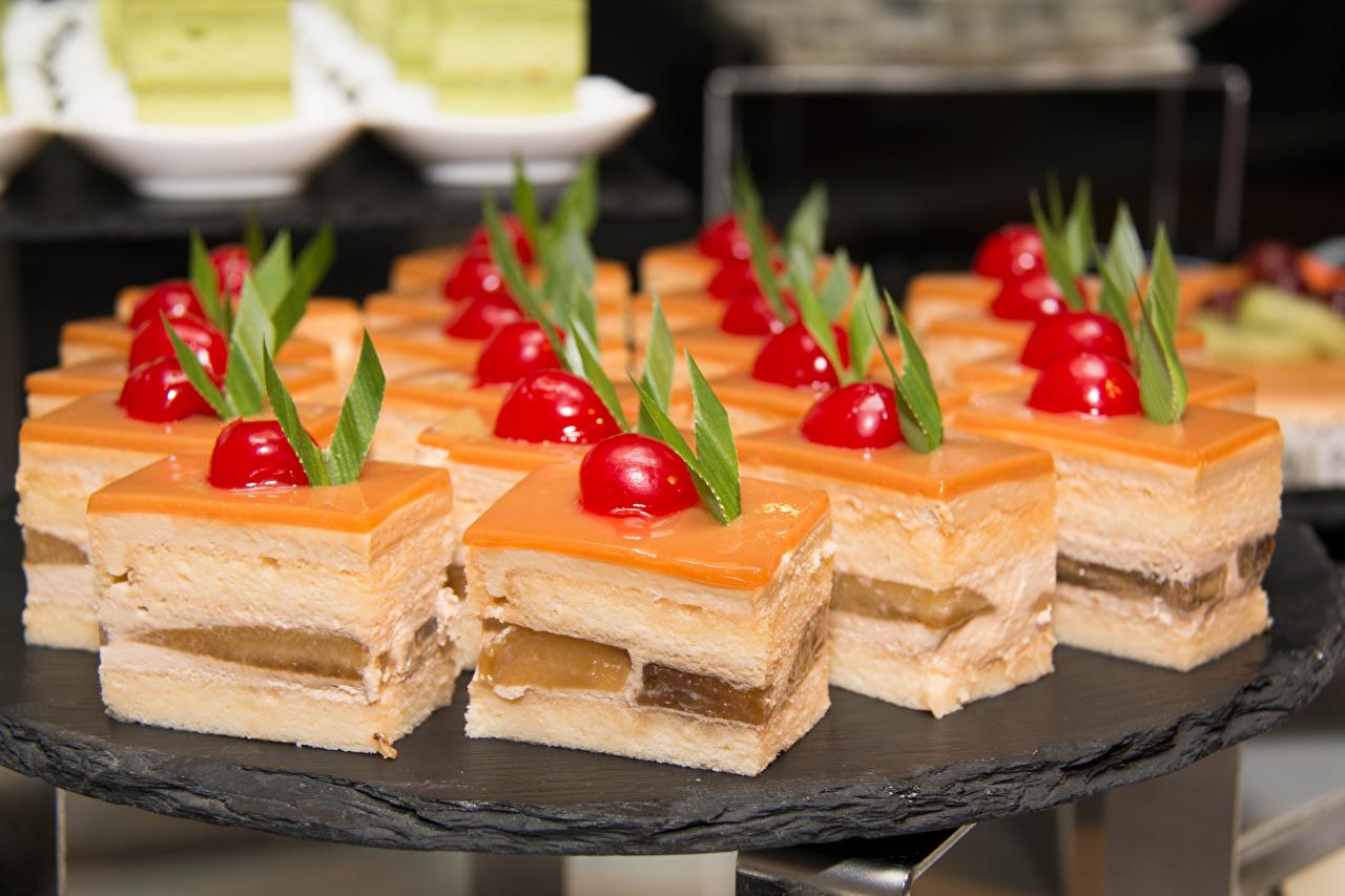Фотография Еда Пирожное Сладости Пища Продукты питания сладкая еда