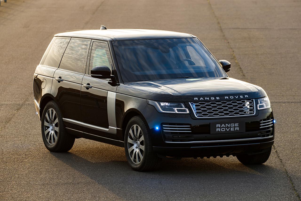 Фотография Land Rover Внедорожник 2019 Sentinel Worldwide Серый авто Range Rover SUV серая серые машина машины Автомобили автомобиль