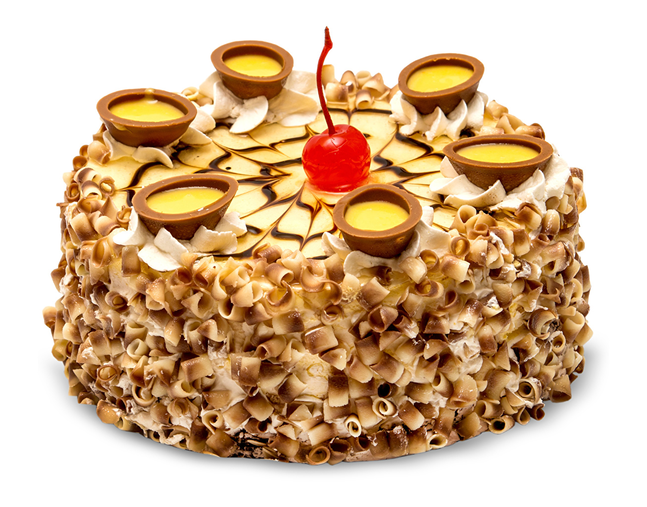 Фото Торты Черешня Пища Белый фон сладкая еда Дизайн Вишня Еда Продукты питания Сладости белом фоне белым фоном дизайна