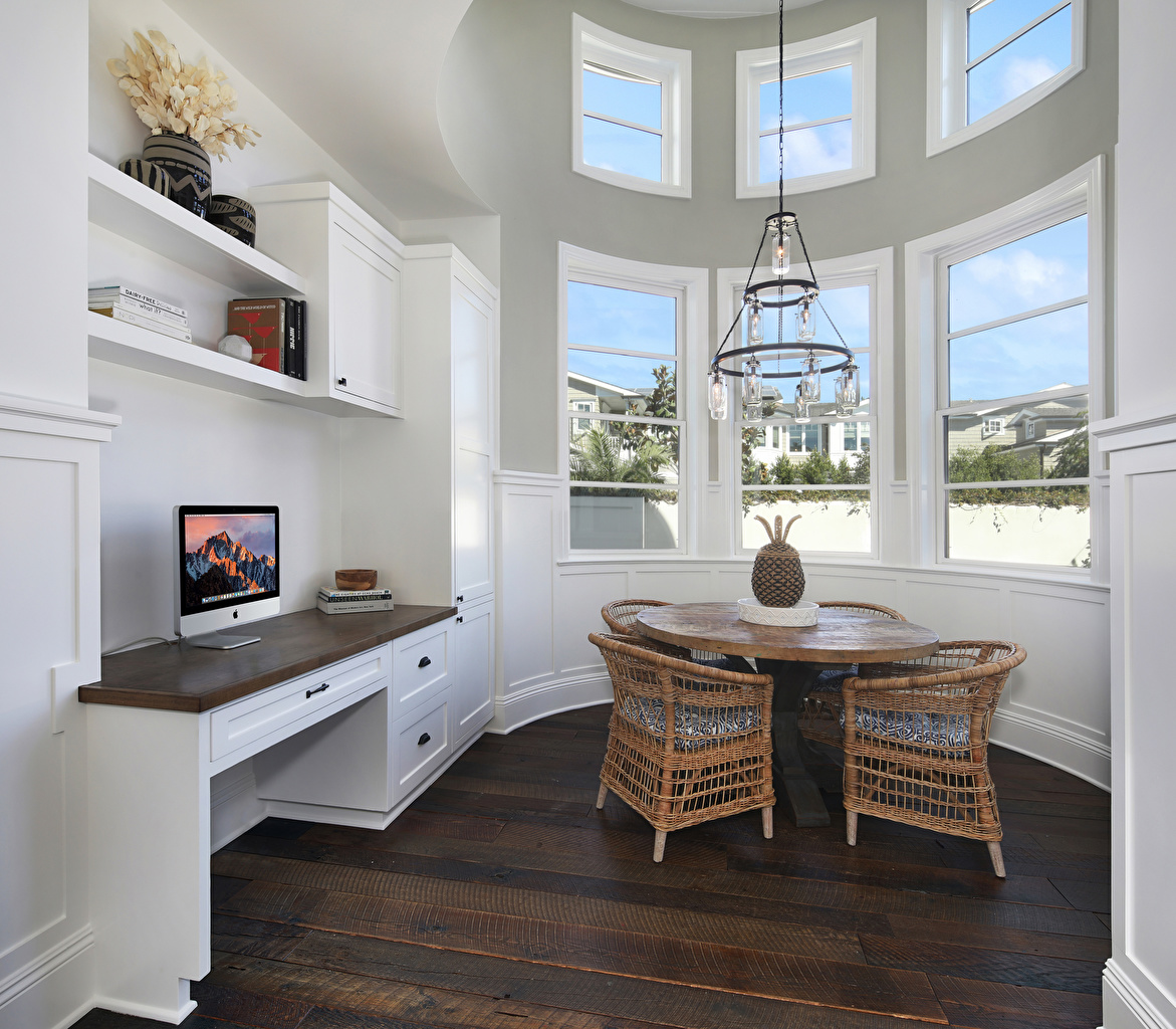 Картинка Интерьер Окно Стол Люстра Стулья дизайна окна стул столы стола люстры Дизайн